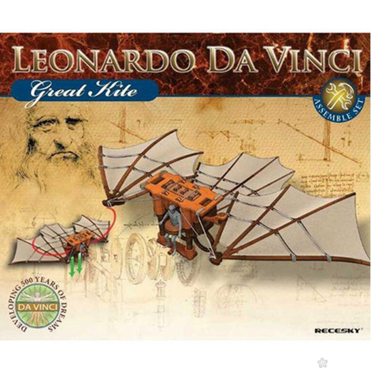 3D Leonardo Da Vinci Zmaj E281