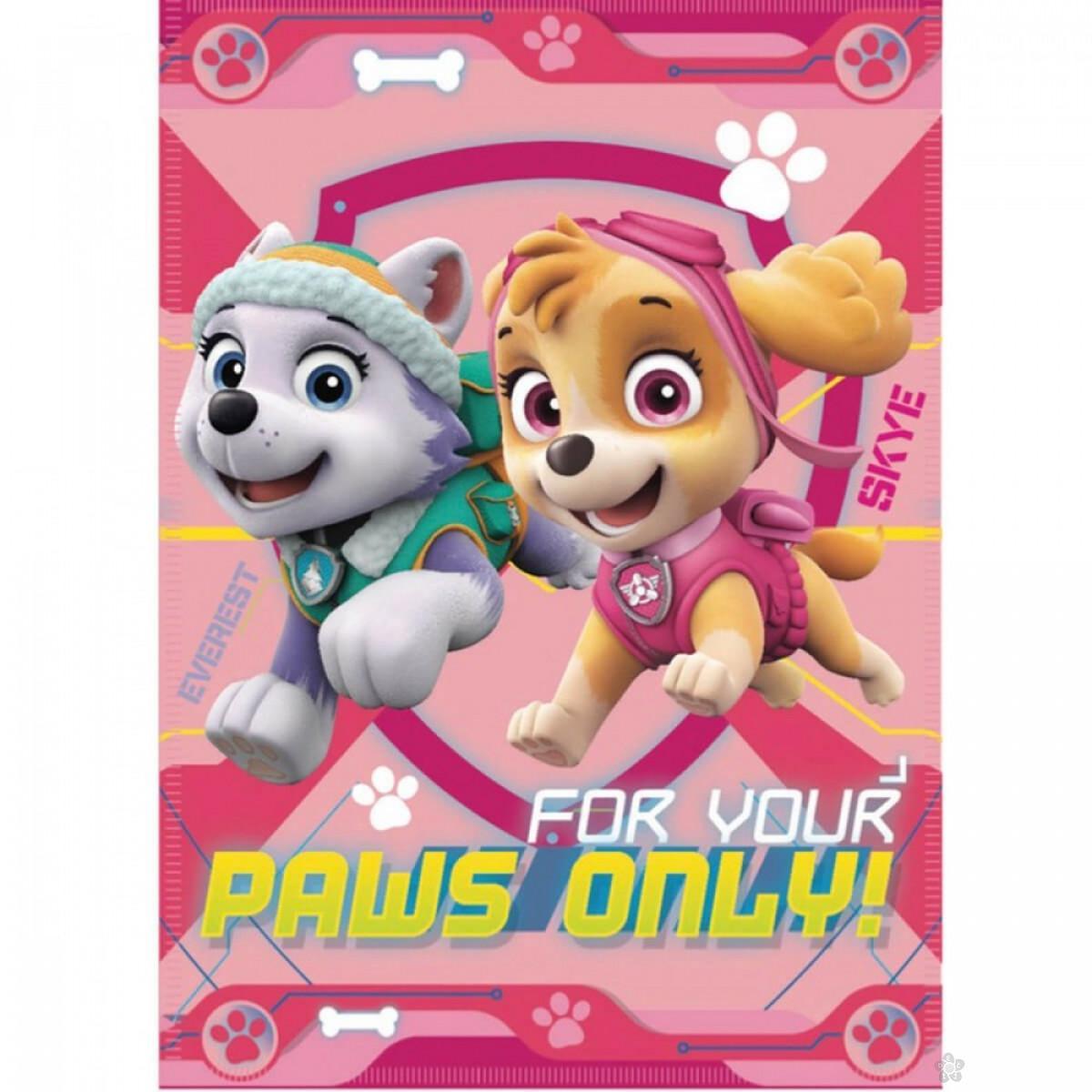 Ćebe Paw Patrol, PT07210-roze