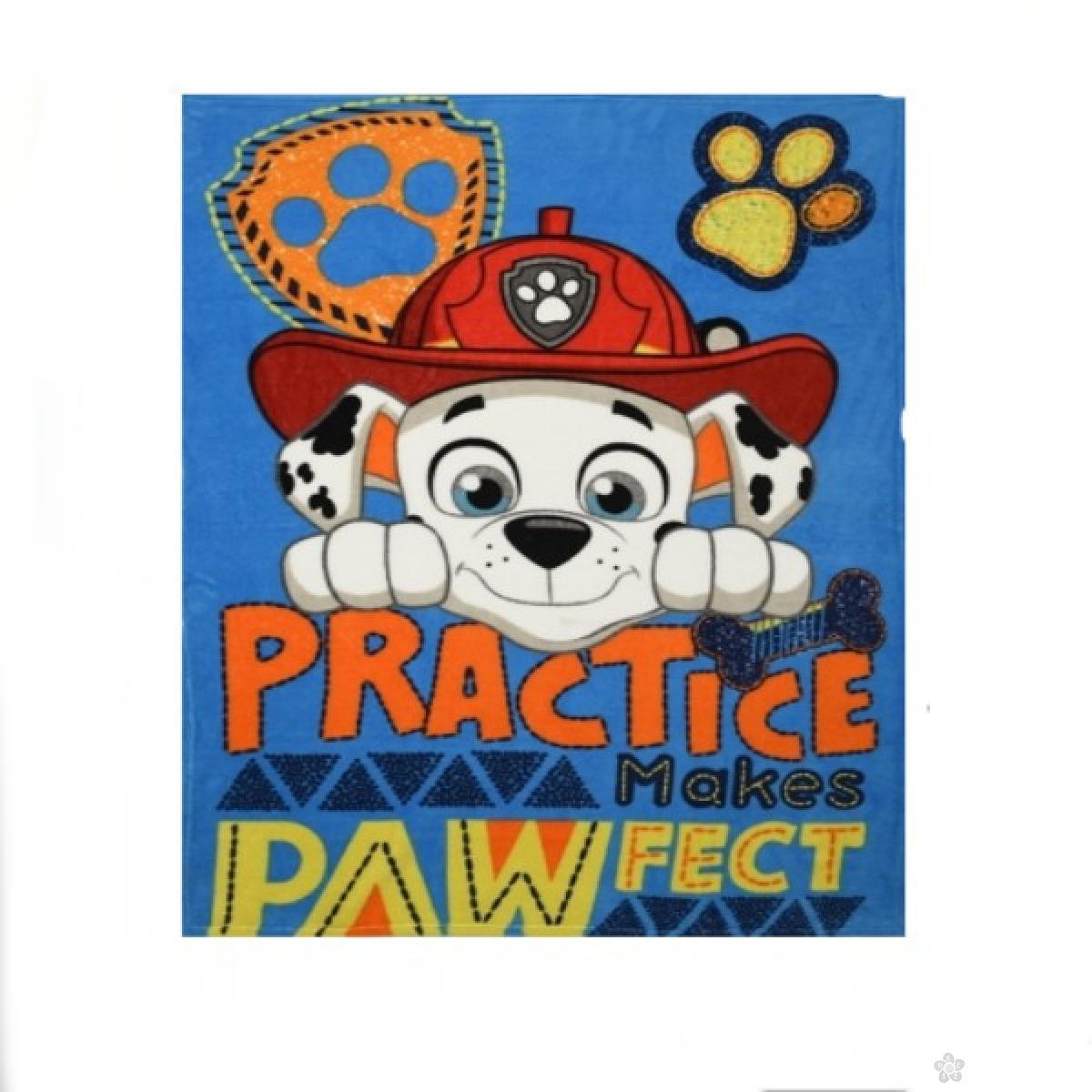 Ćebe Paw Patrol, PT07211CF-plavo