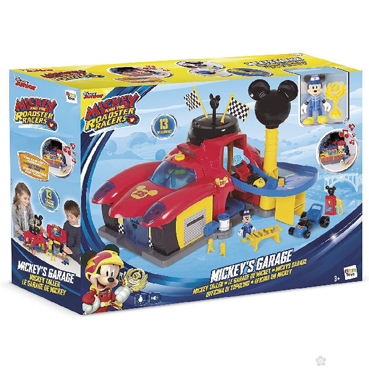 Mickey garaža 182493