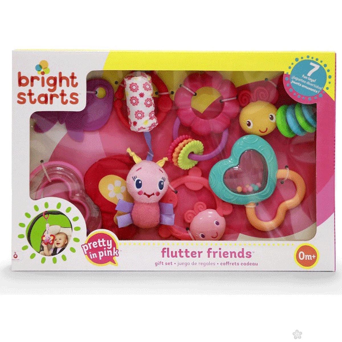 Poklon set za bebe Preaty in Pink Garden Giggles SKU52293