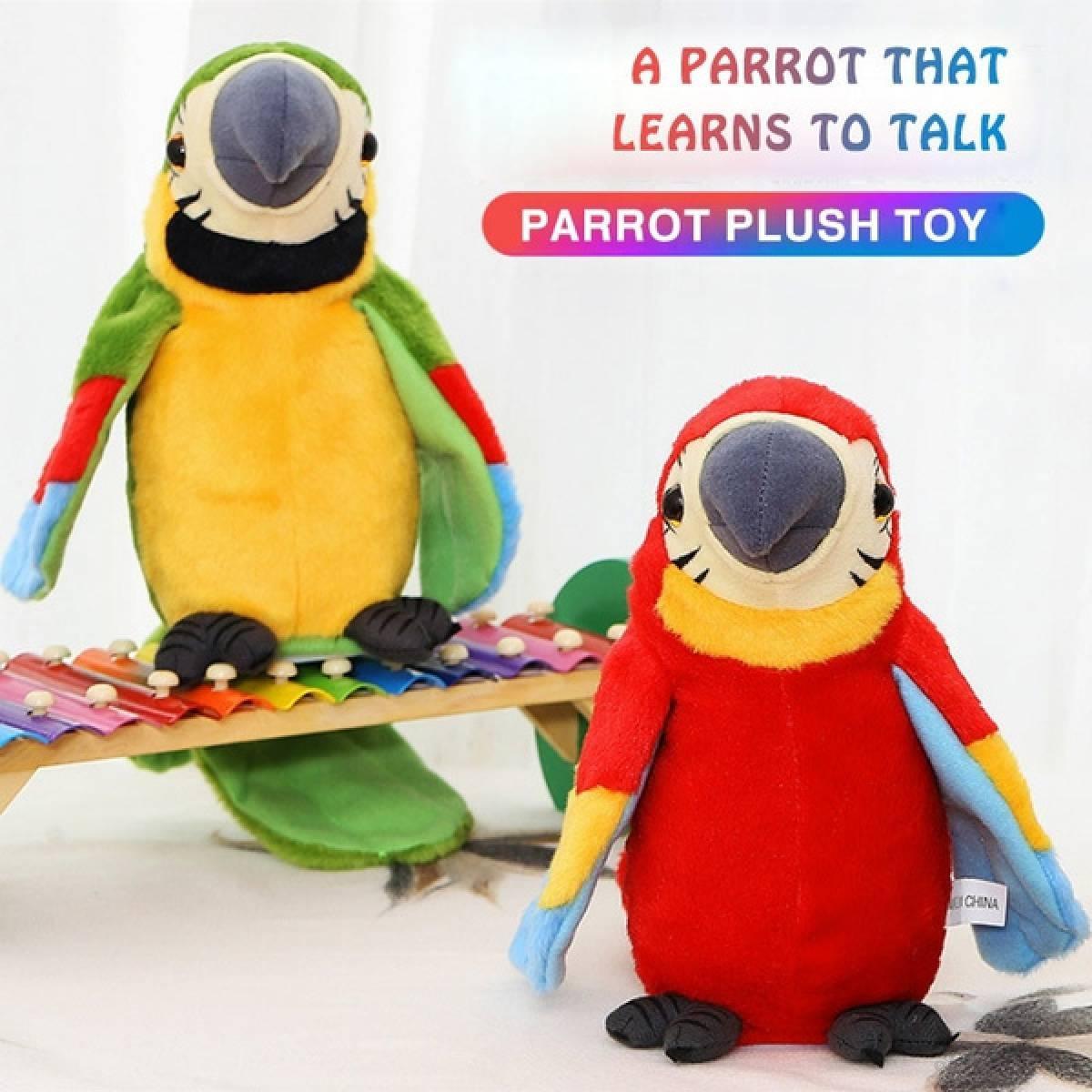 Plišani papagaj koji ponavlja reči 511508