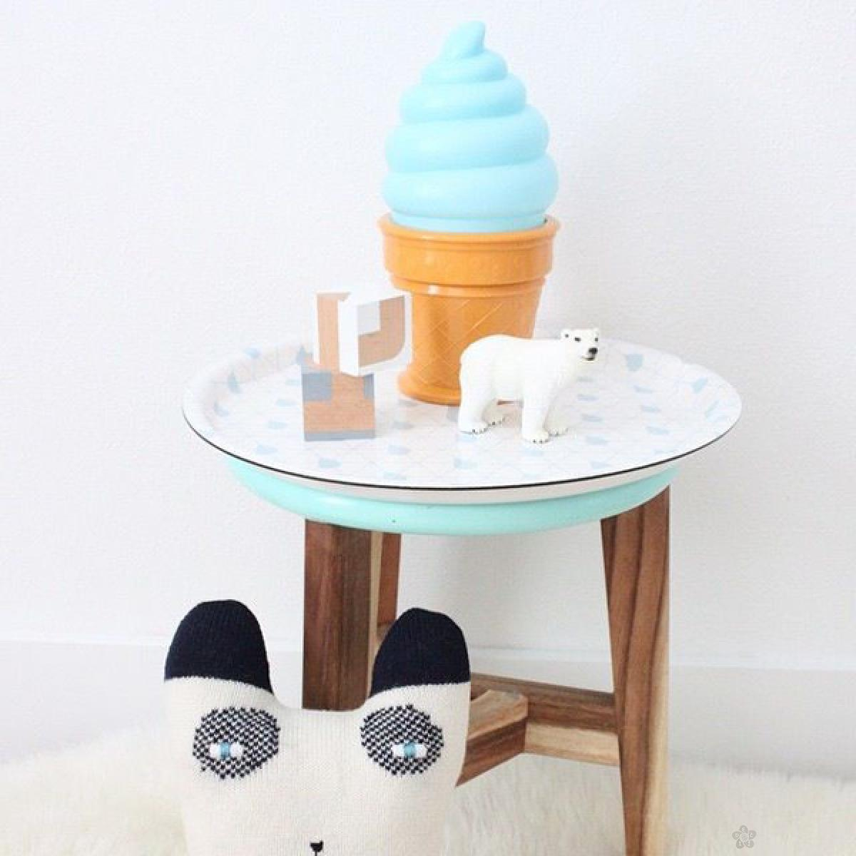 Mini lampa Ice Cream PLAVI LTIB006