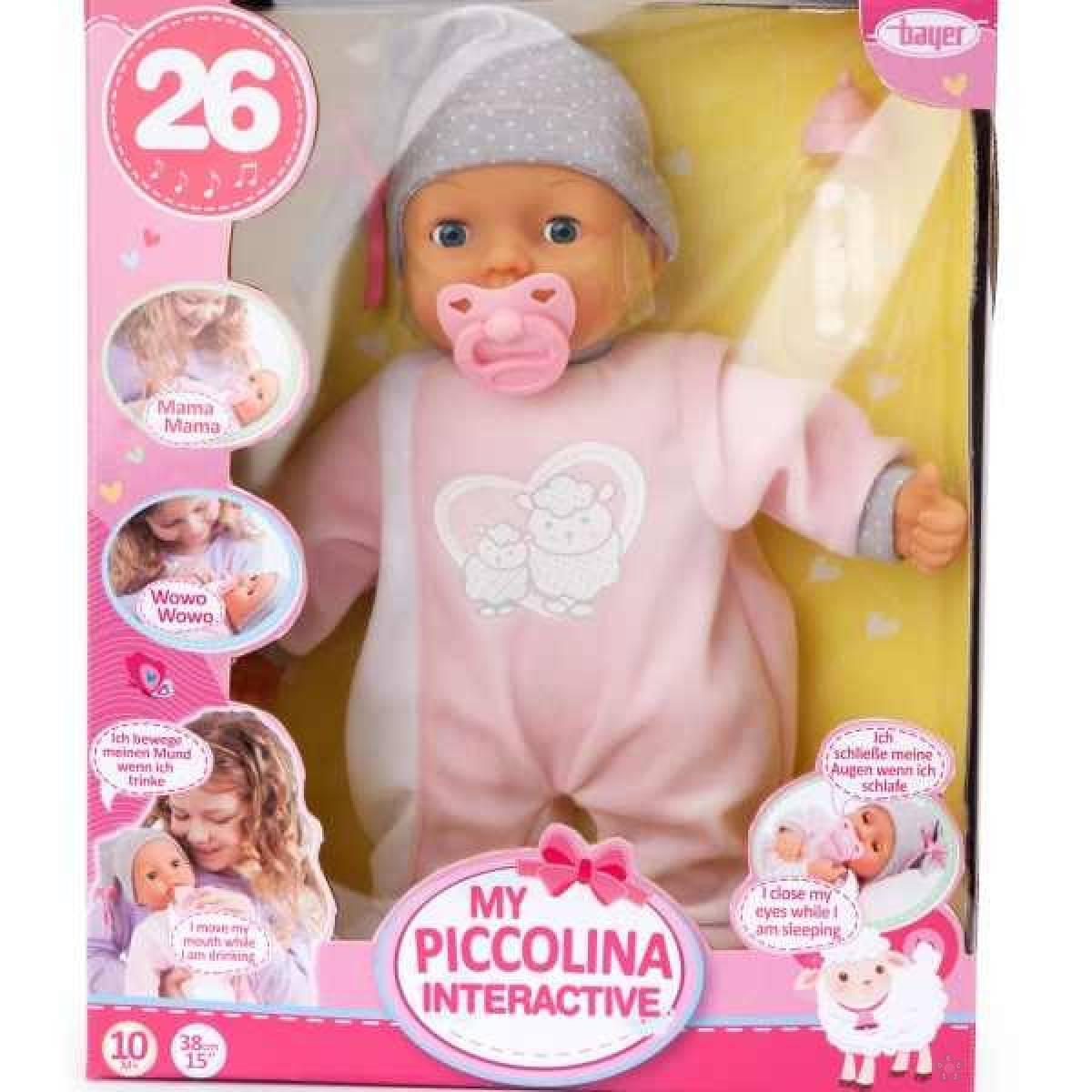 Interaktivna lutka beba Picollina