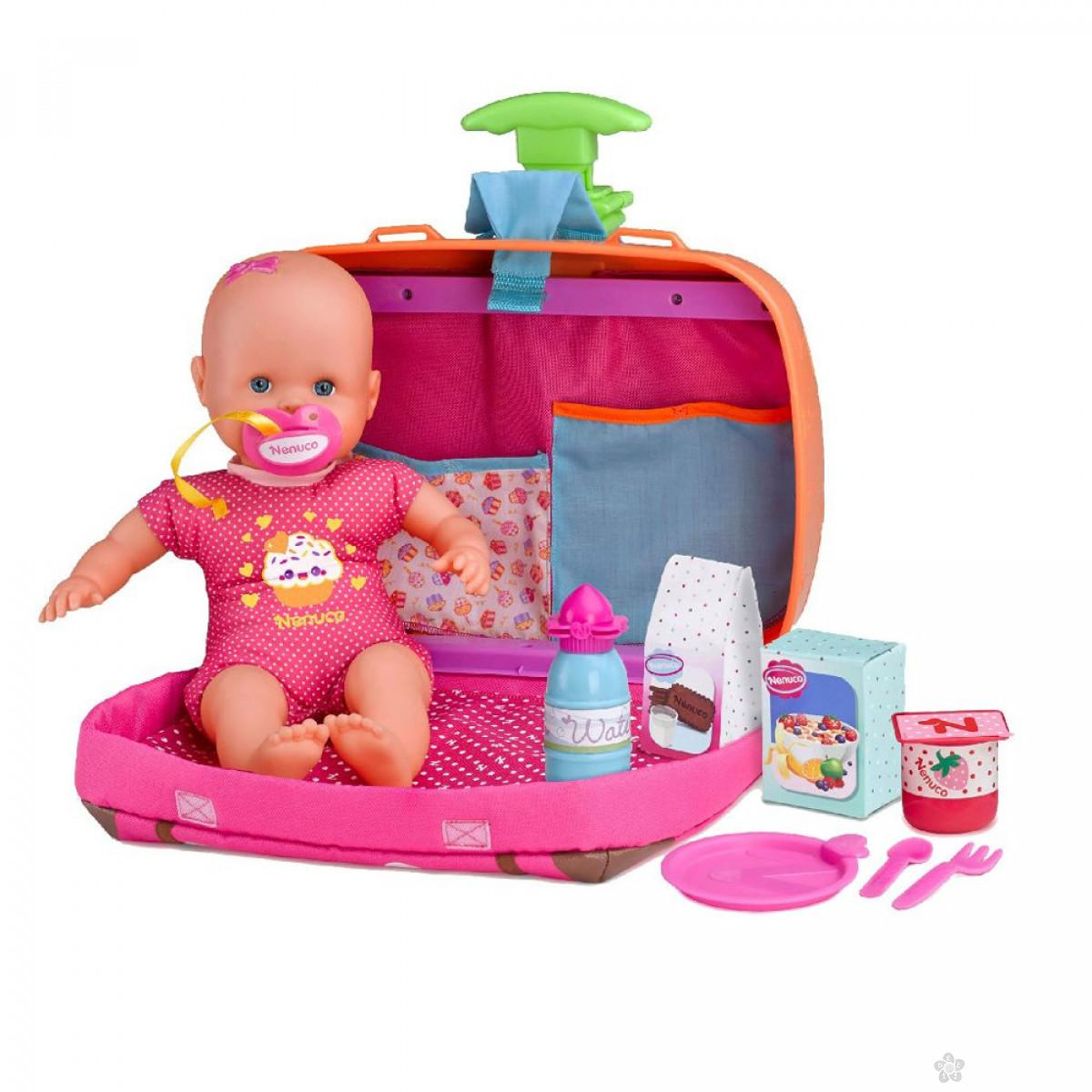Beba sa koferom za putovanje Nenuco 0127428