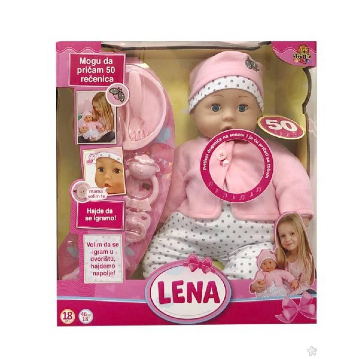 Interaktivna lutka LENA, 50 rečenica