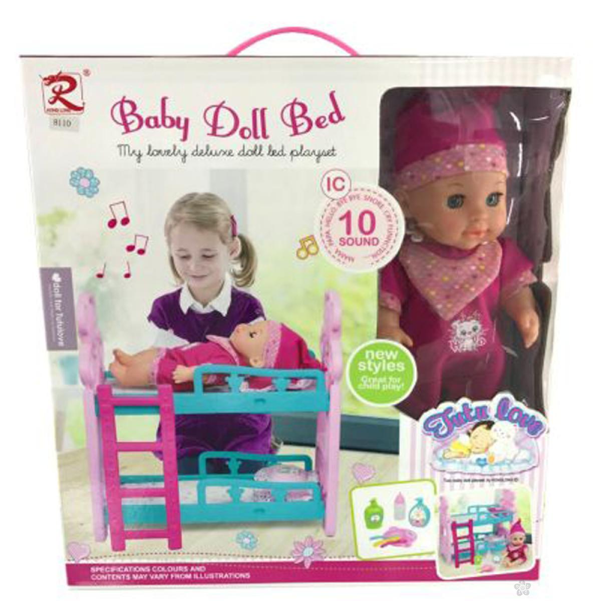 Lutka beba sa dodacima 31/8110