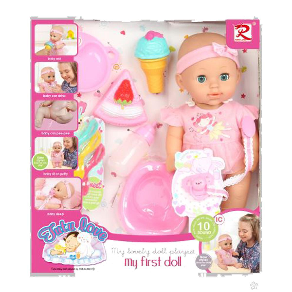 Lutka beba sa dodacima 31/8130