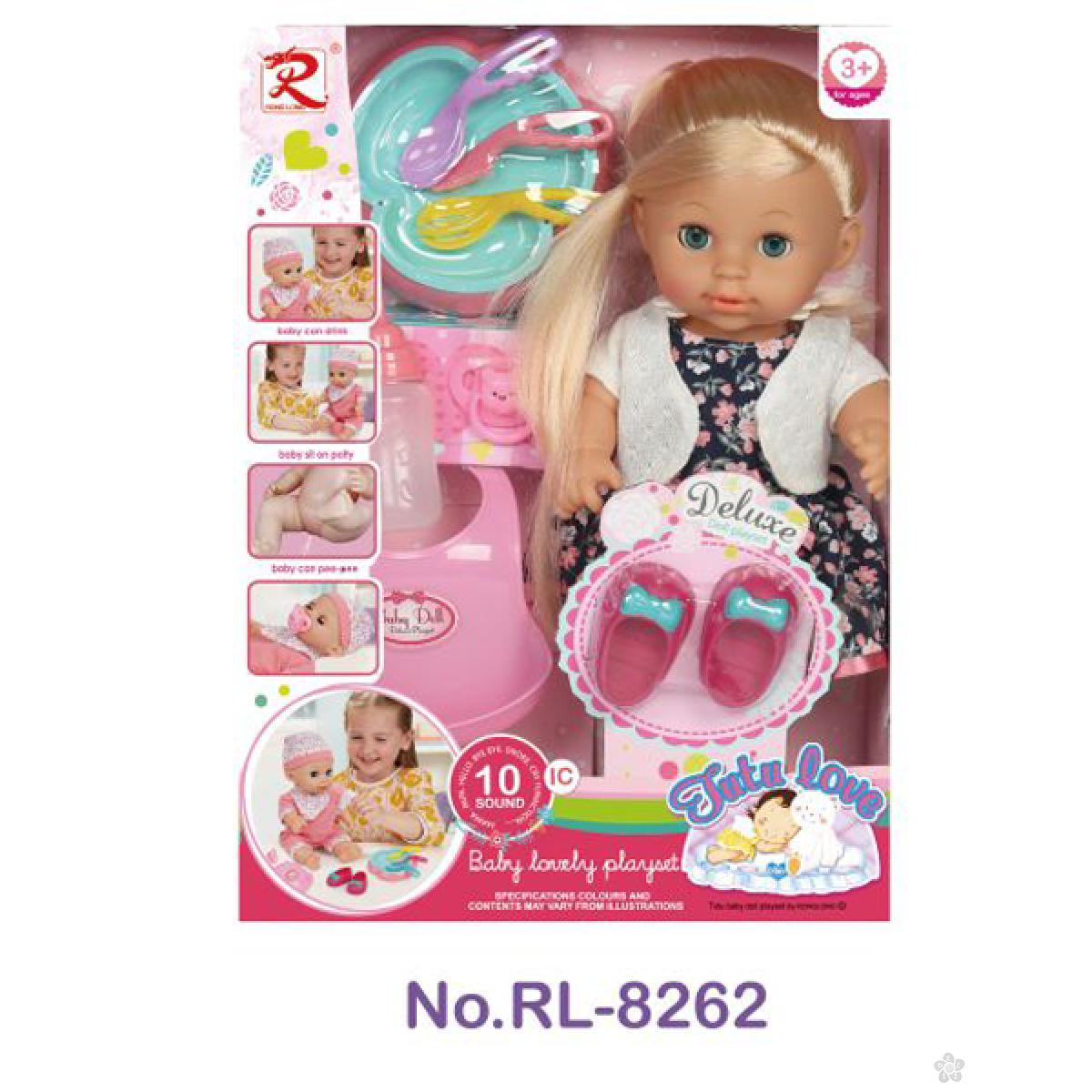 Lutka beba sa dodacima 31/8262