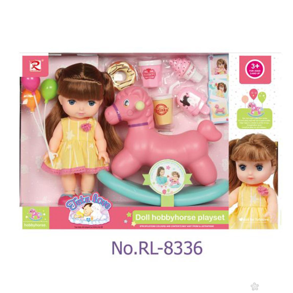 Lutka beba sa konjićem i dodacima 31/8336