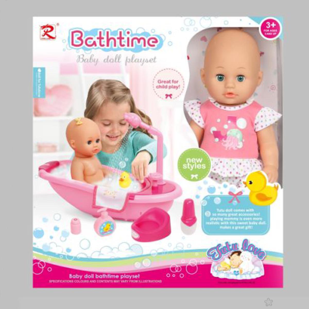Lutka beba sa kadicom za kupanje 31/8109