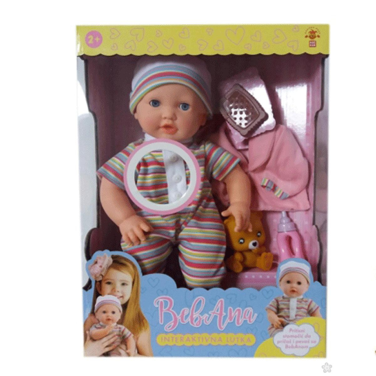 Interaktivna lutka beba BEBANA 34169 mag