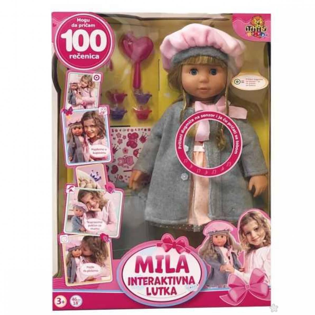 Interaktivna lutka MILA, 100 rečenica