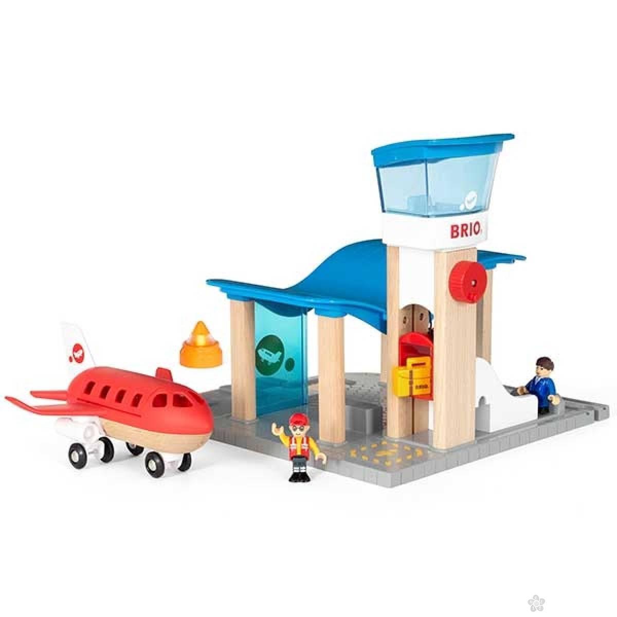 Aerodrom sa kontrolnom kulom Brio BR33883