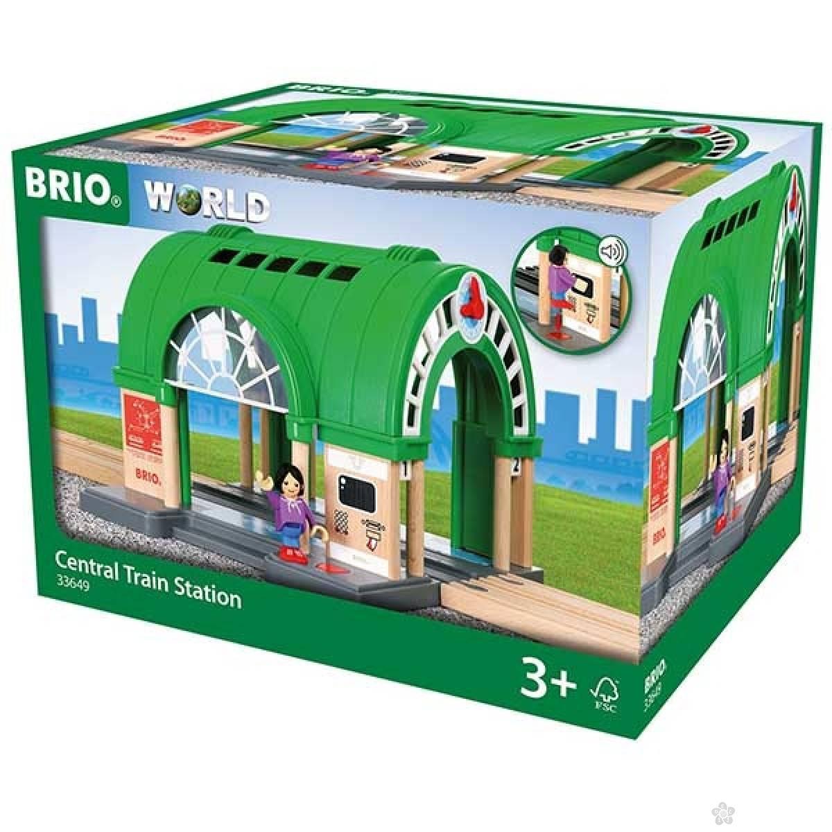 Centralna železnička stanica Brio BR33649
