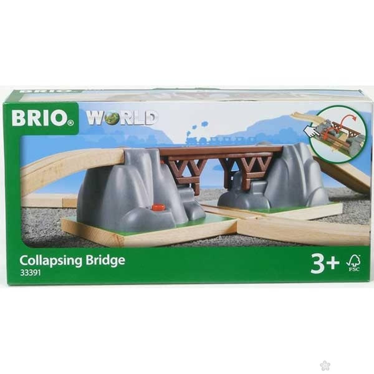 Delovi za prugu - pokretni most Brio BR33391