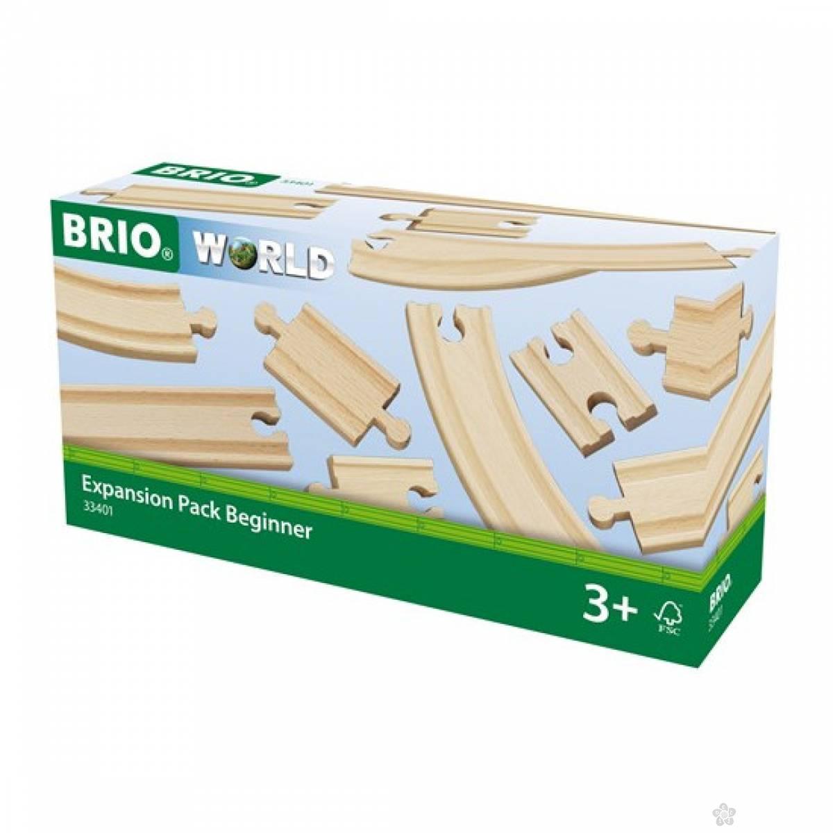 Delovi za prugu-šine za početnike Brio BR33401