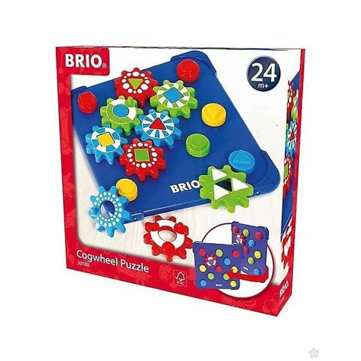 Kognitivne puzzle Brio BR30188