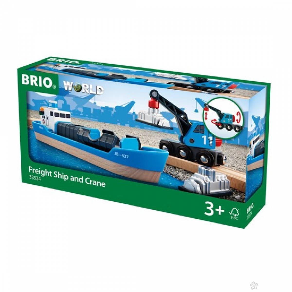 Konterjner i dizalica Brio BR33534