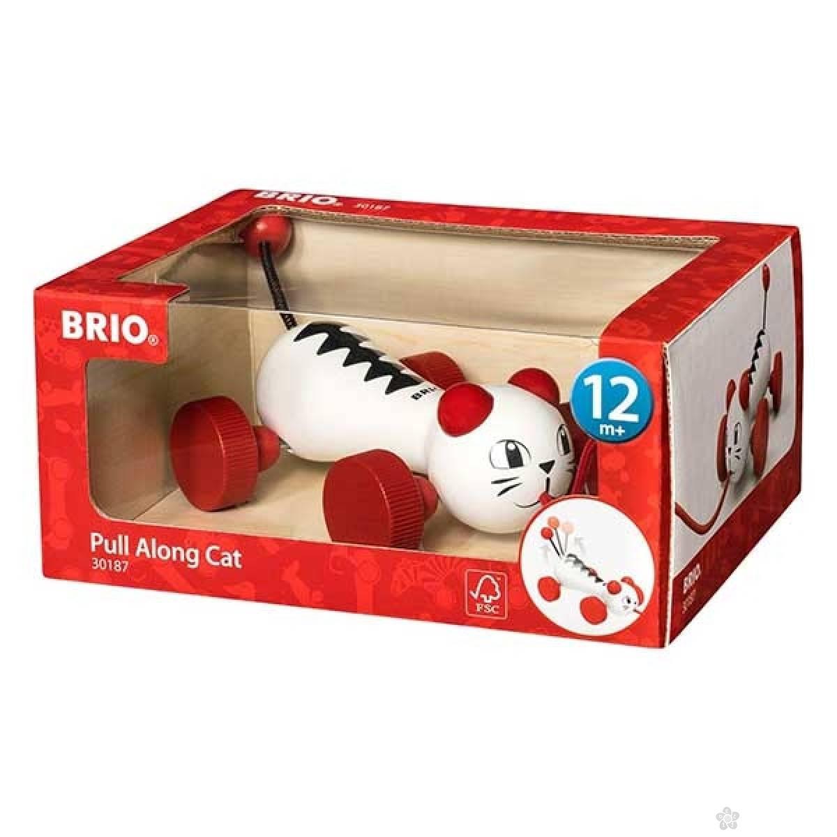 Mačka na potez Brio BR30187