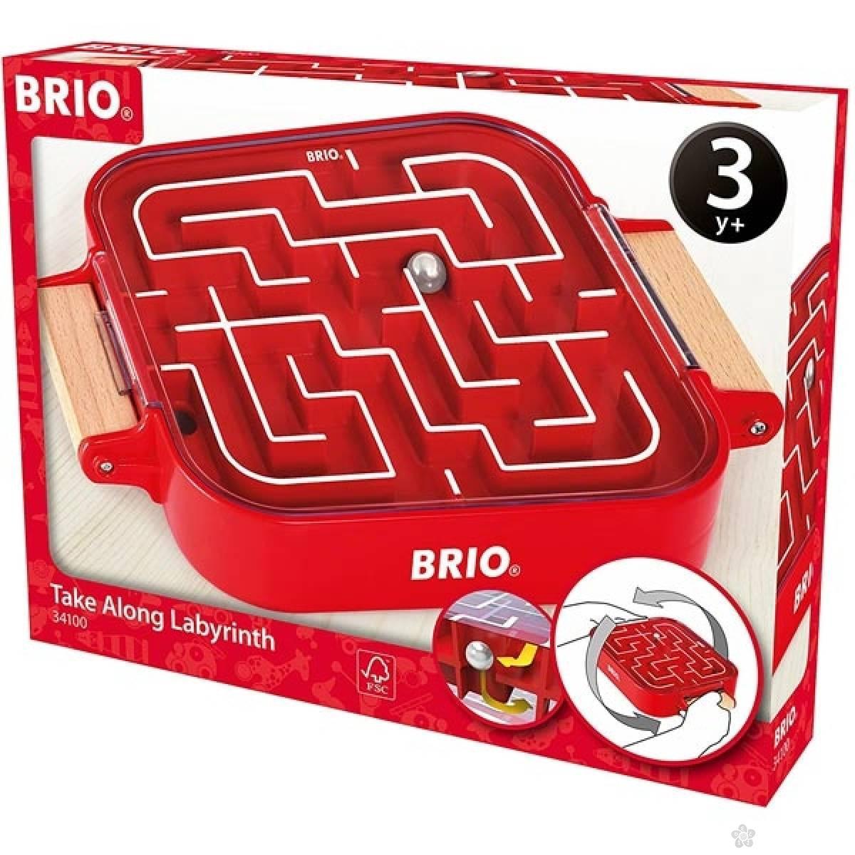 Prenosivi lavirint Brio BR34100