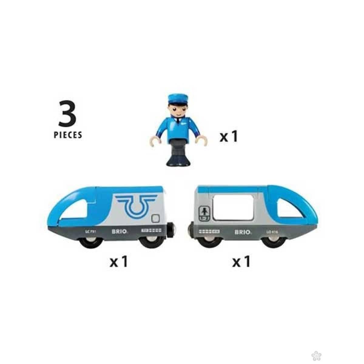 Putnički voz na baterije Brio BR33506