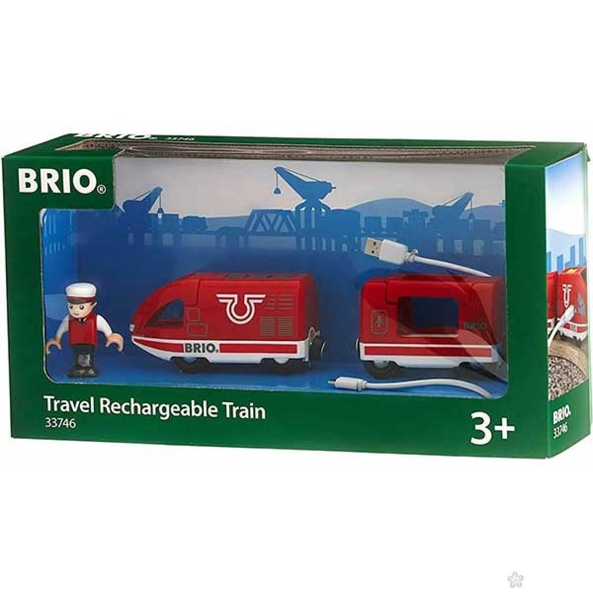Putnički voz na punjenje Brio BR33746