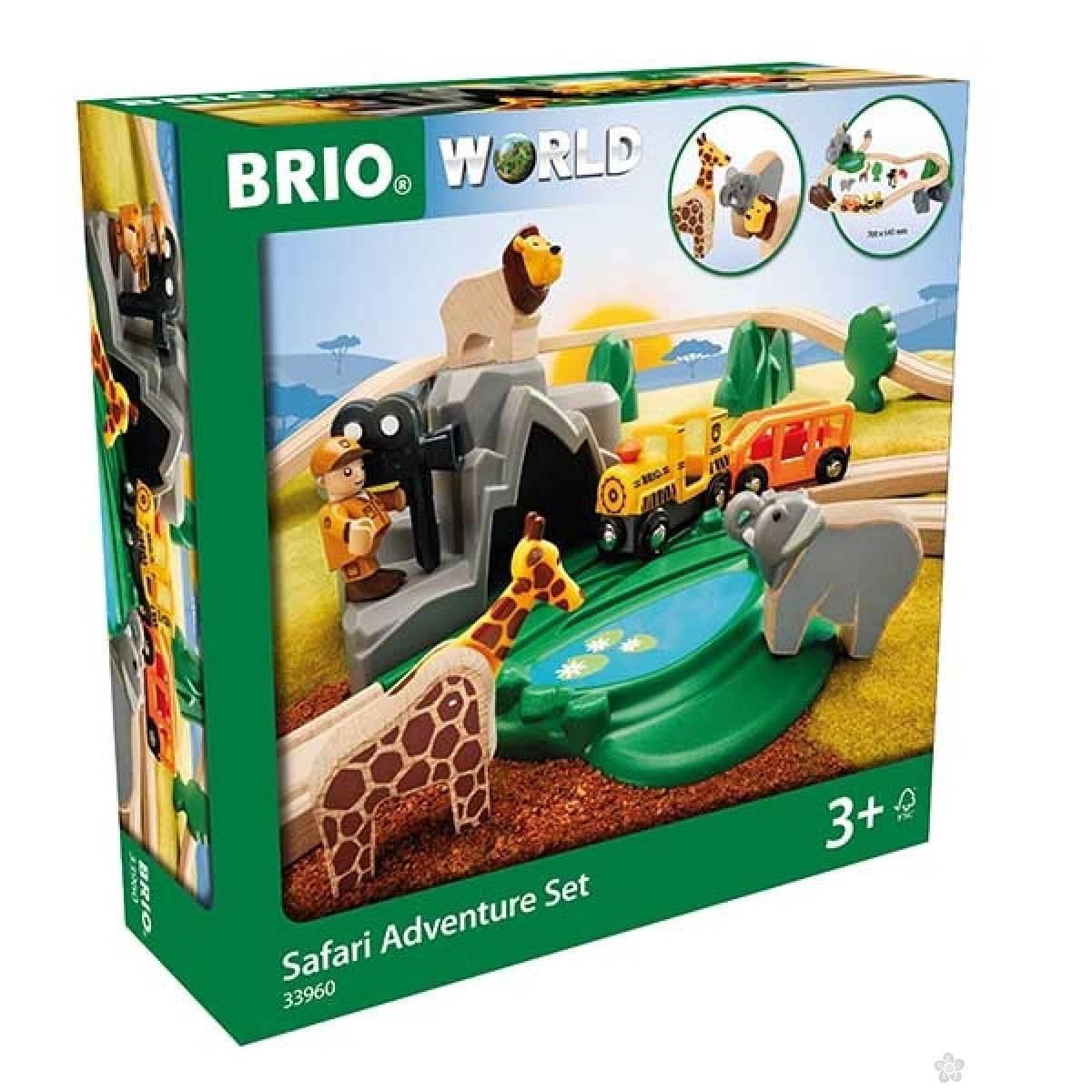 Safari set Brio BR33960