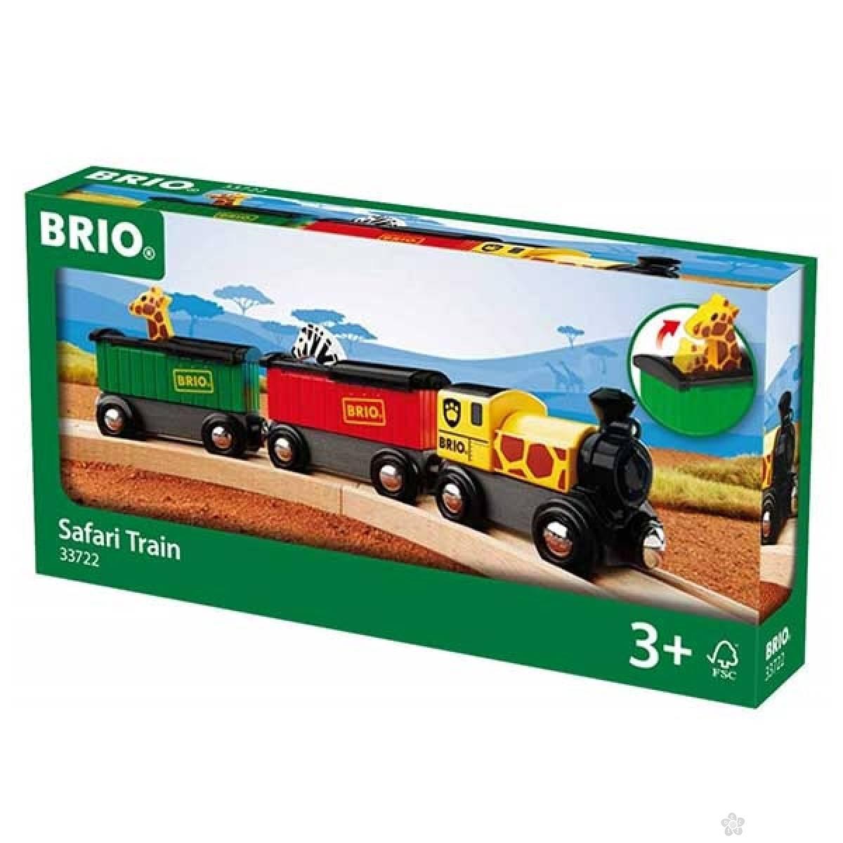 Safari voz Brio BR33722