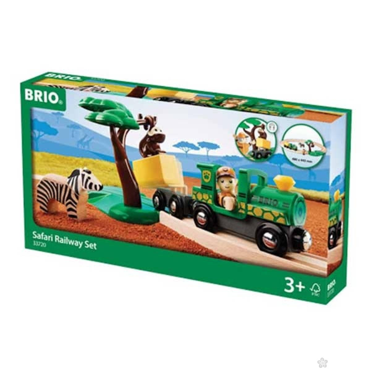 Safari voz - Set Brio BR33720