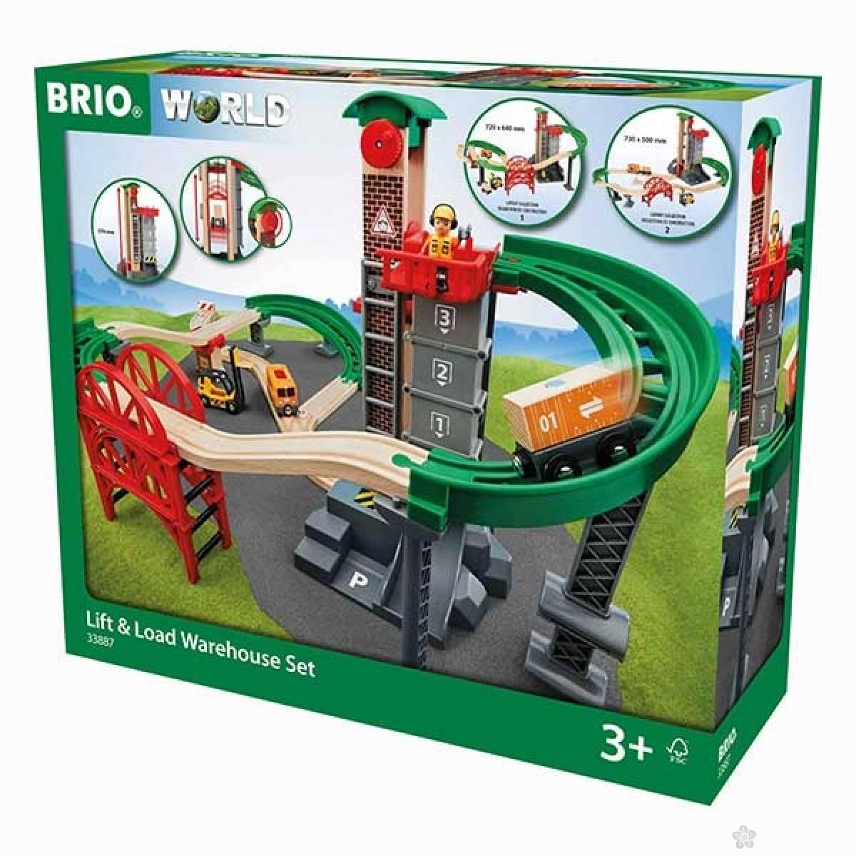 Skladište sa opremom za dizanje i utovar Brio BR33887