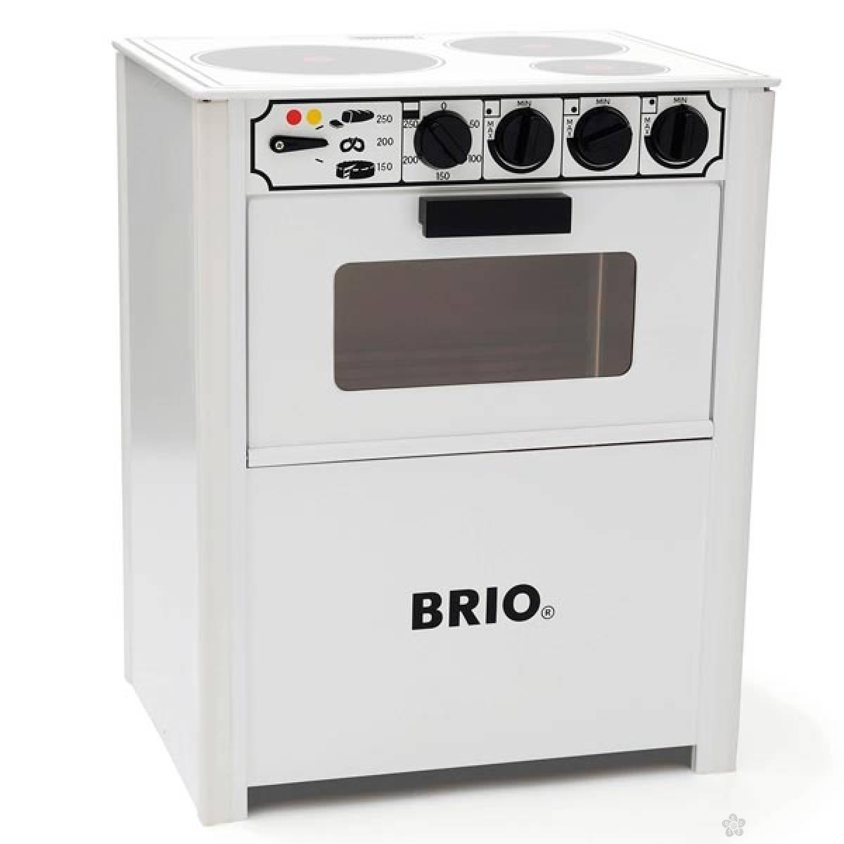 Šporet bele boje Brio BR31357