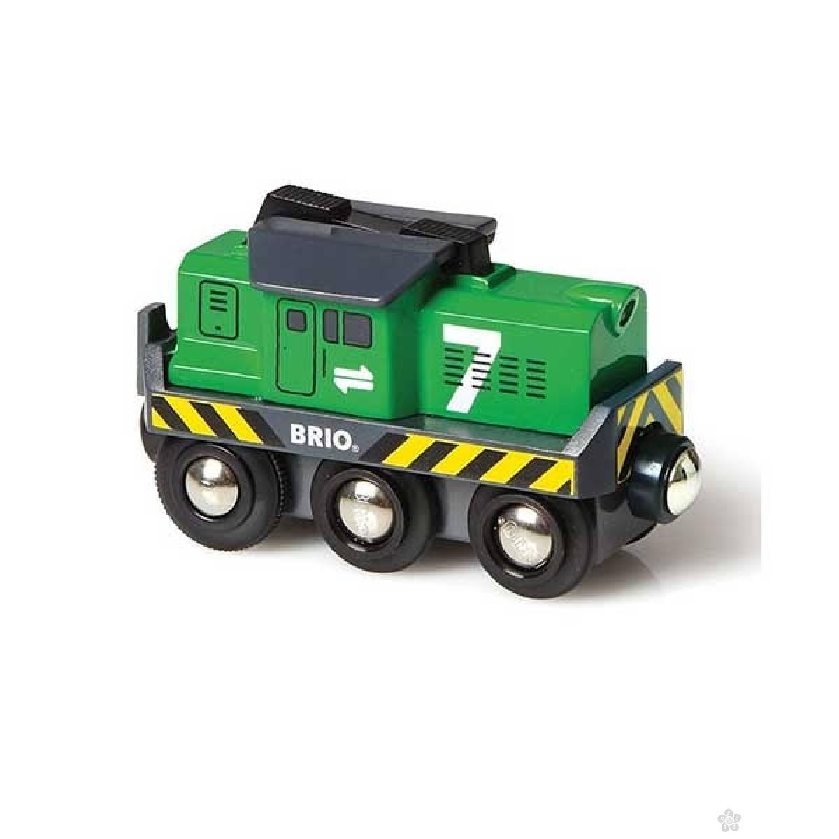 Teretna lokomotiva na baterije Brio BR33214
