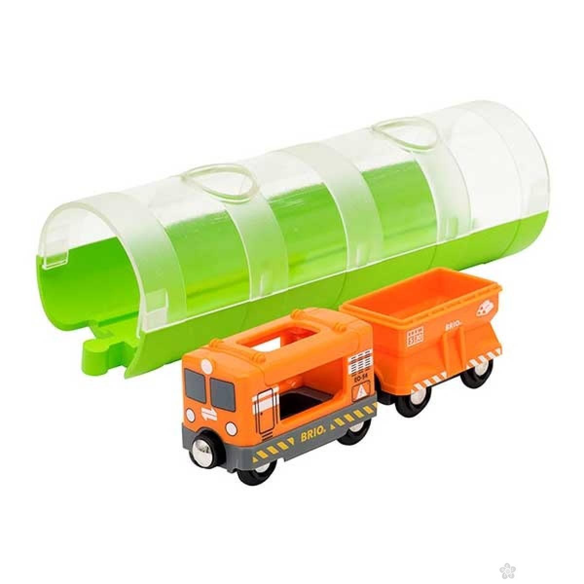 Tunel i teretni voz Brio BR33891