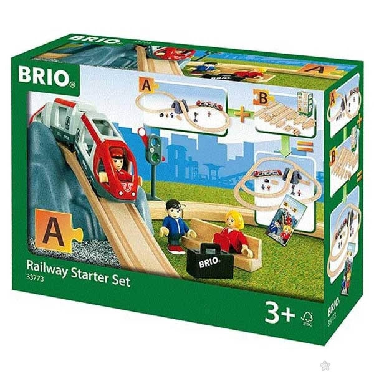 Vozni Starter set Brio BR33773