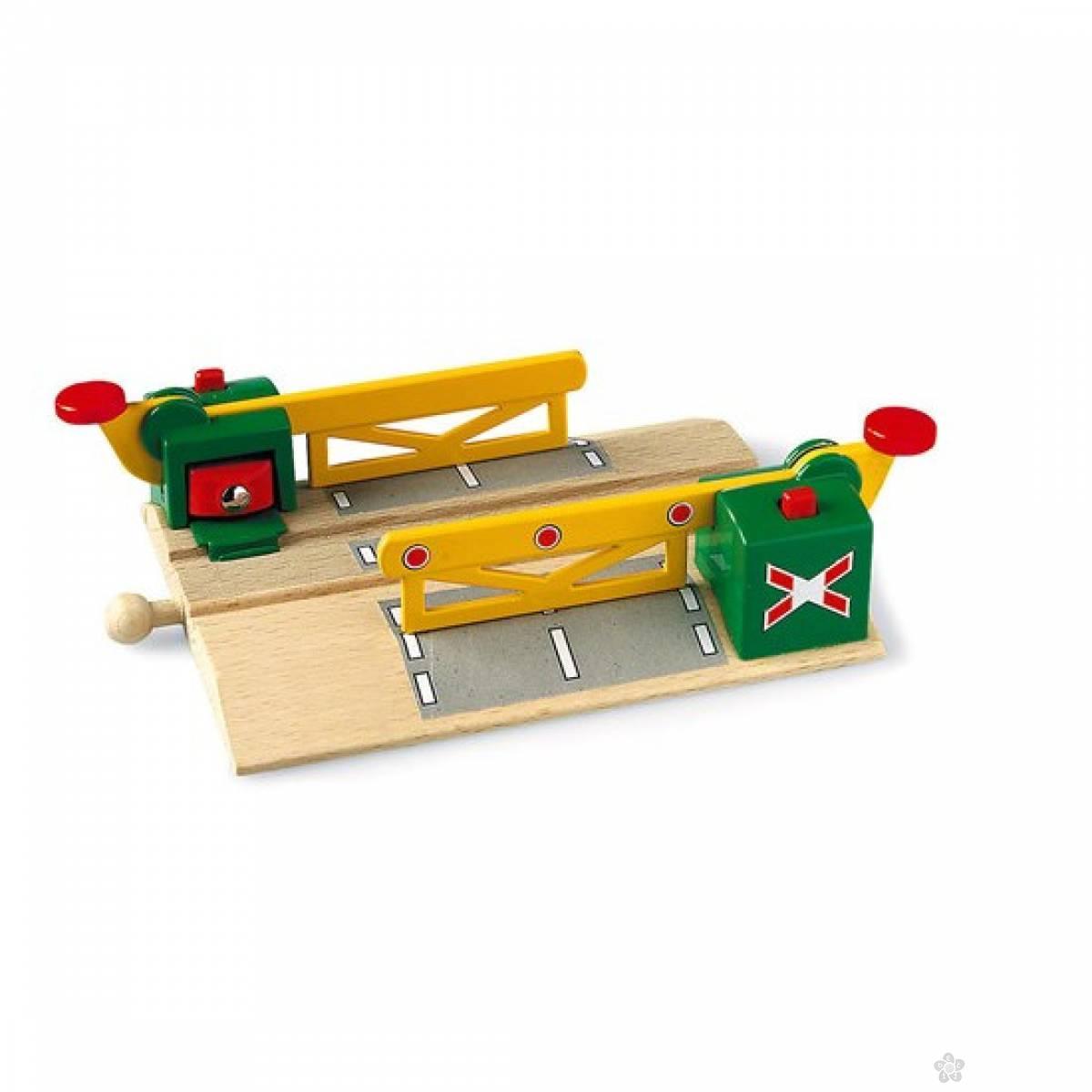 Železnički prelaz sa magnetom Brio BR33750