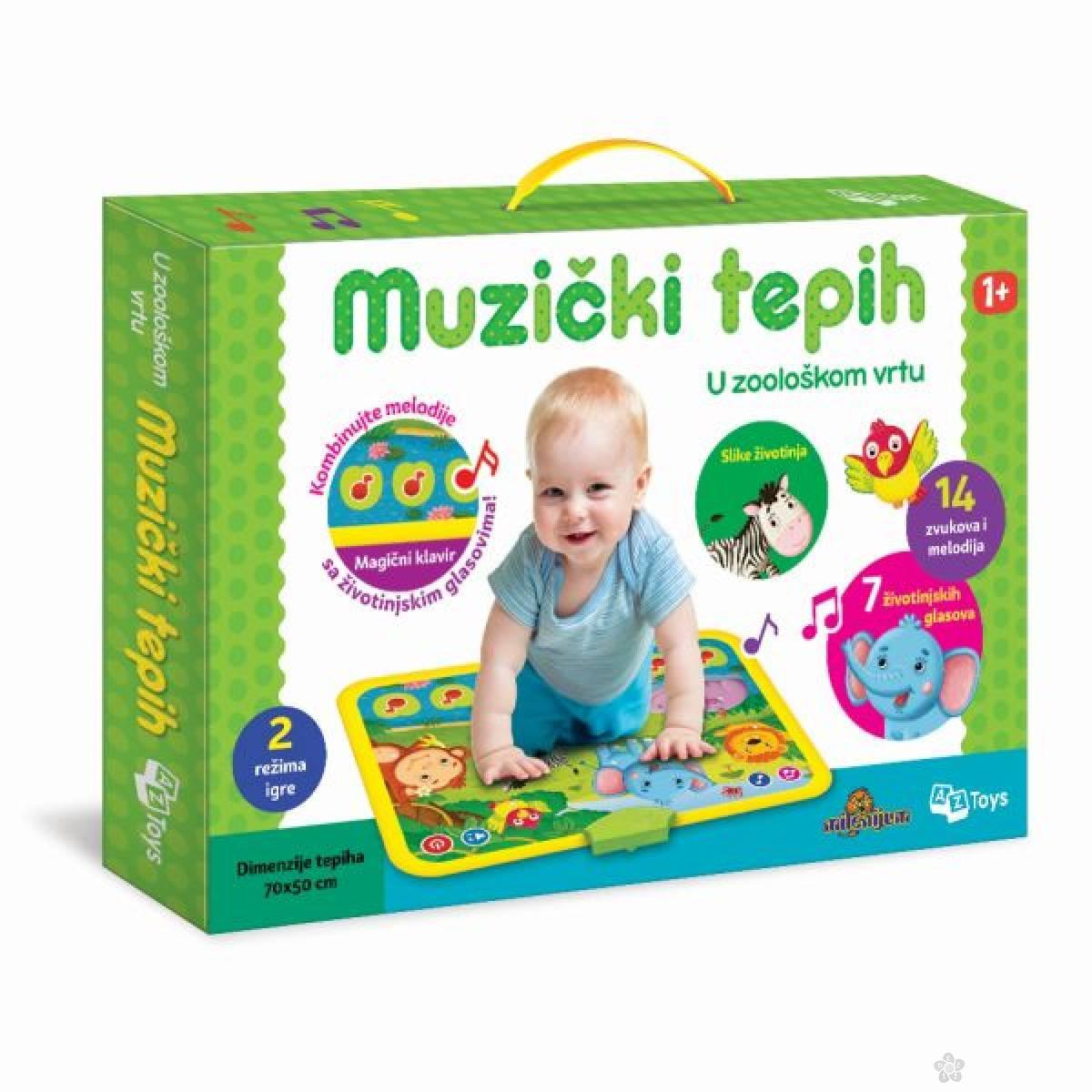 Muzički tepih - U ZOO vrtu 11/01017