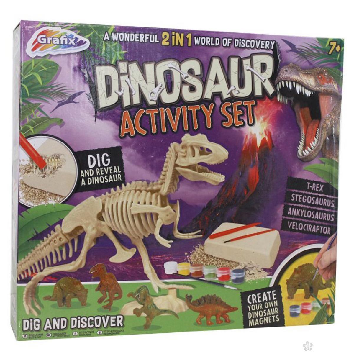 Kreativni set iskopaj i oboji dinosaurusa