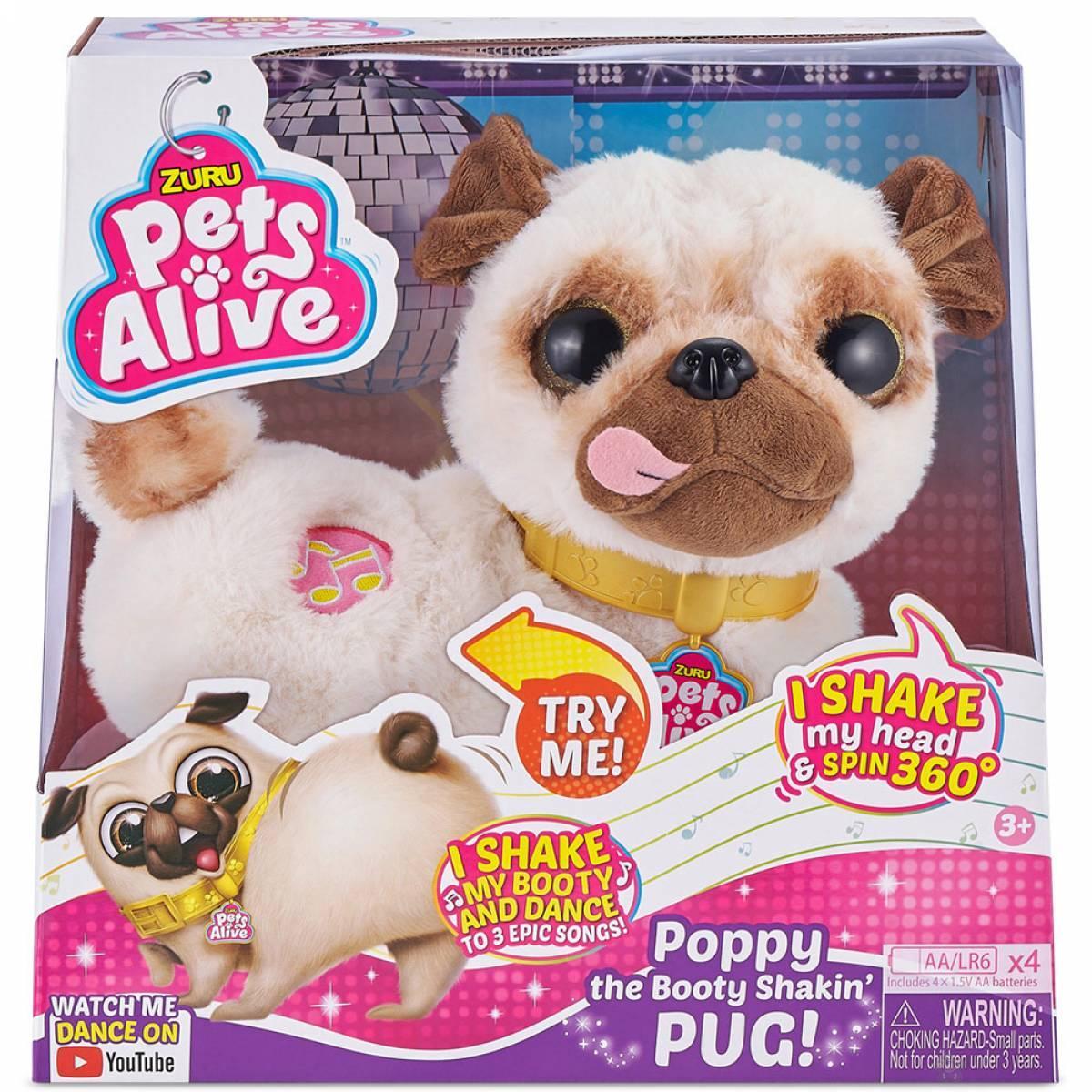 ZURU Pets Alive Mops Poppy interaktivna kuca