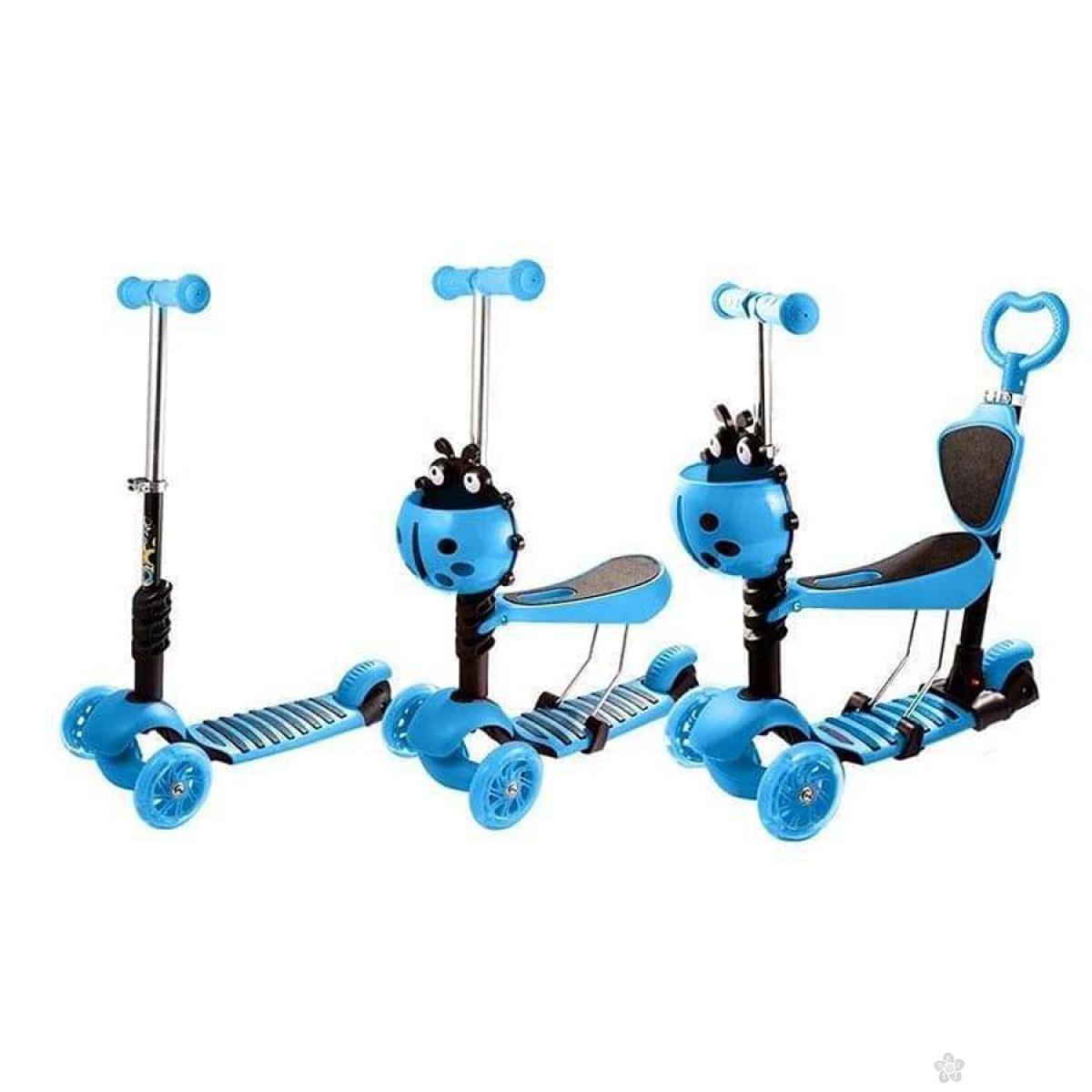 Trotinet  bubamara, plavi,model 652