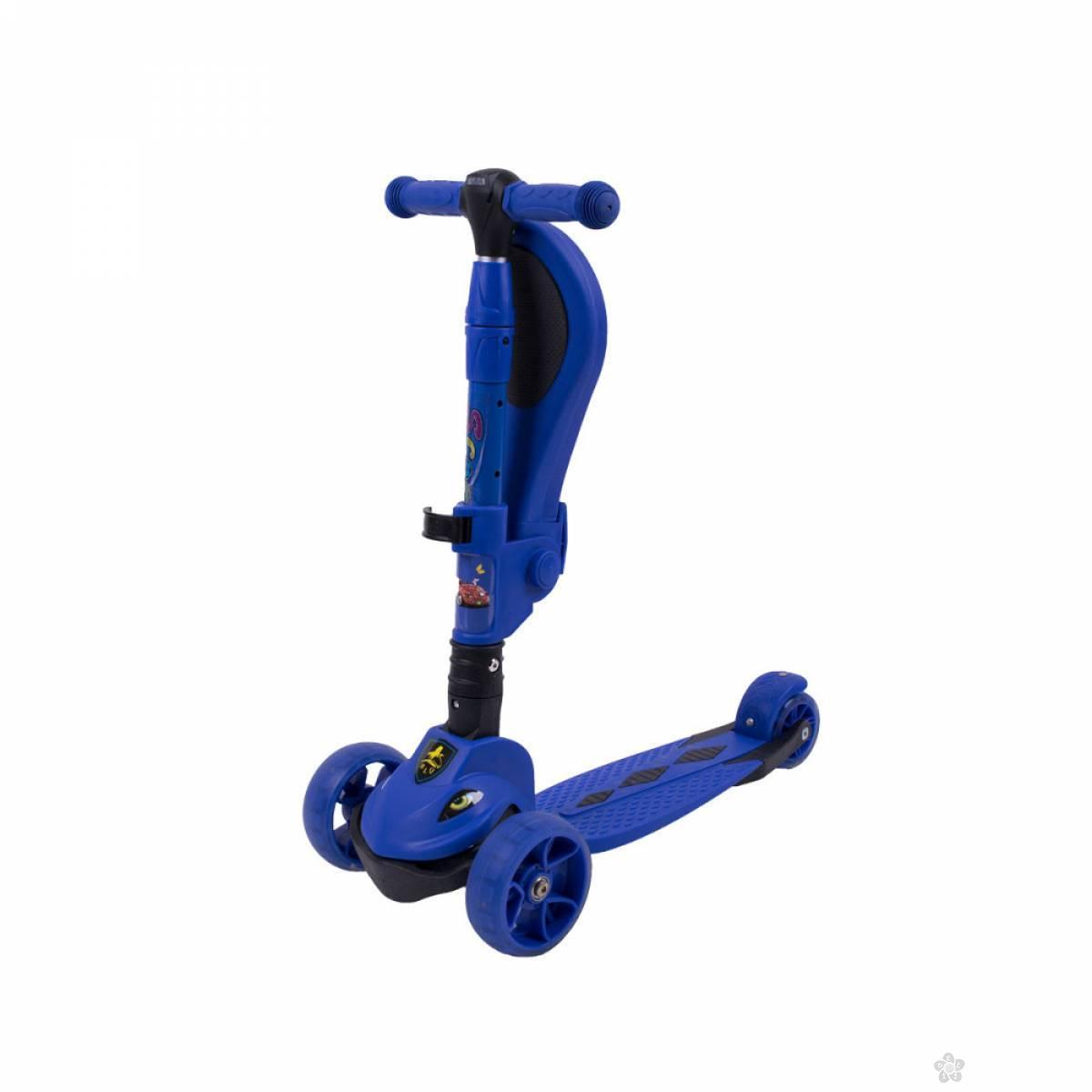 Jungle trotinet SL-4, plava 022904