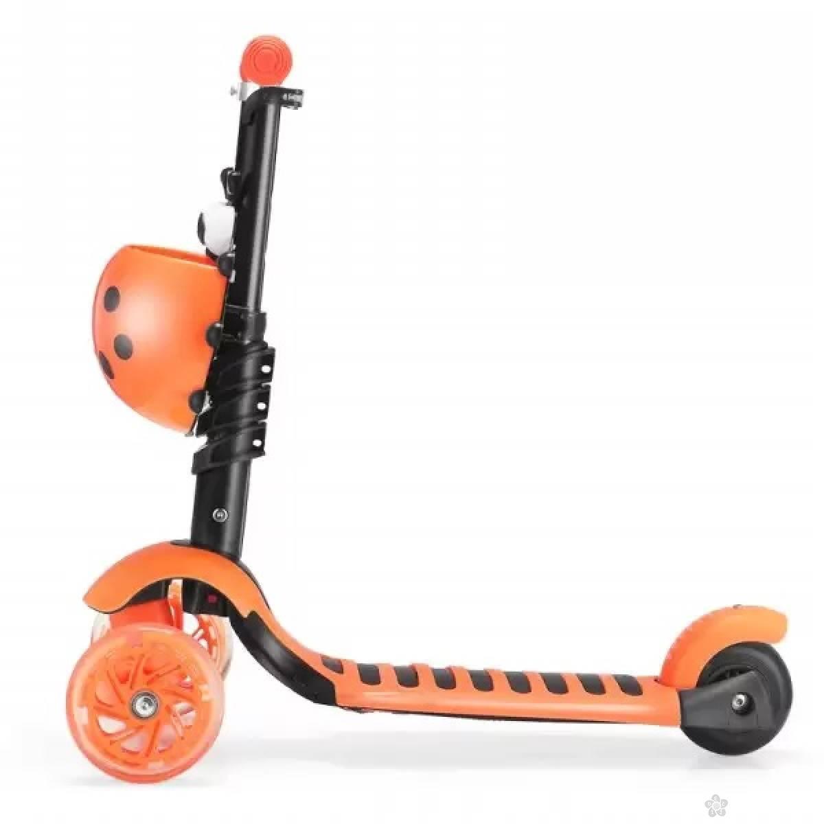 Trotinet  bubamara model 652 narandžasti