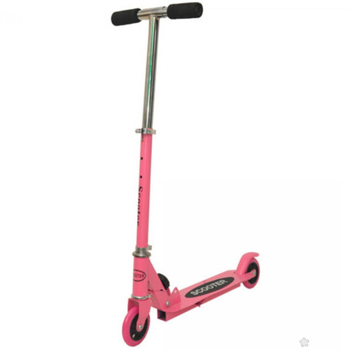 Trotinet sklopivi pink do 20 kg, 0127126