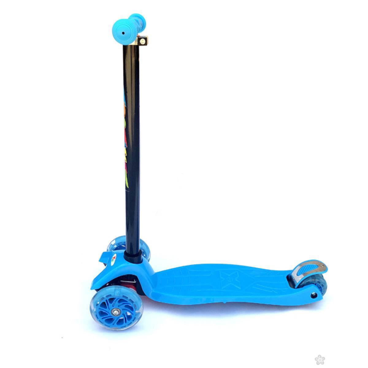 Trotinet X-TRO plava 780224