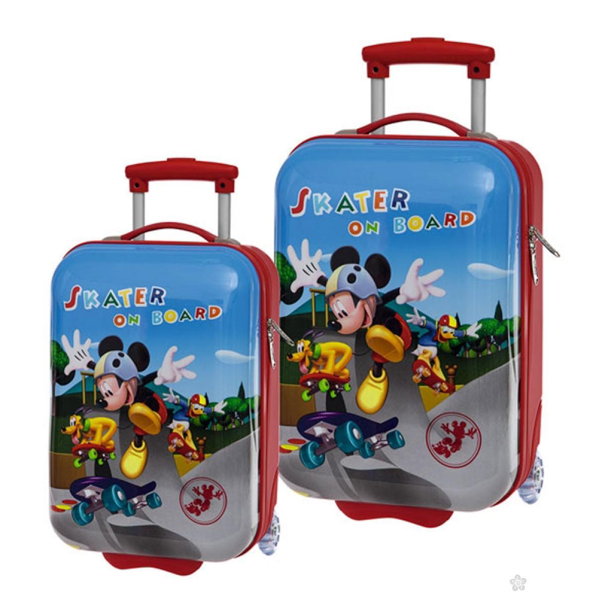 Set kofera Mickey Mouse 2u1 48/55cm 40.113.51