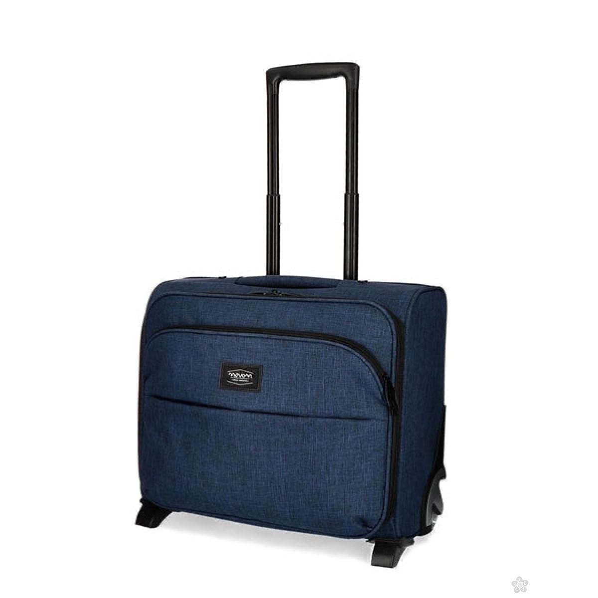 Kofer pilot za laptop Ottawa Movom teget, 52.964.62