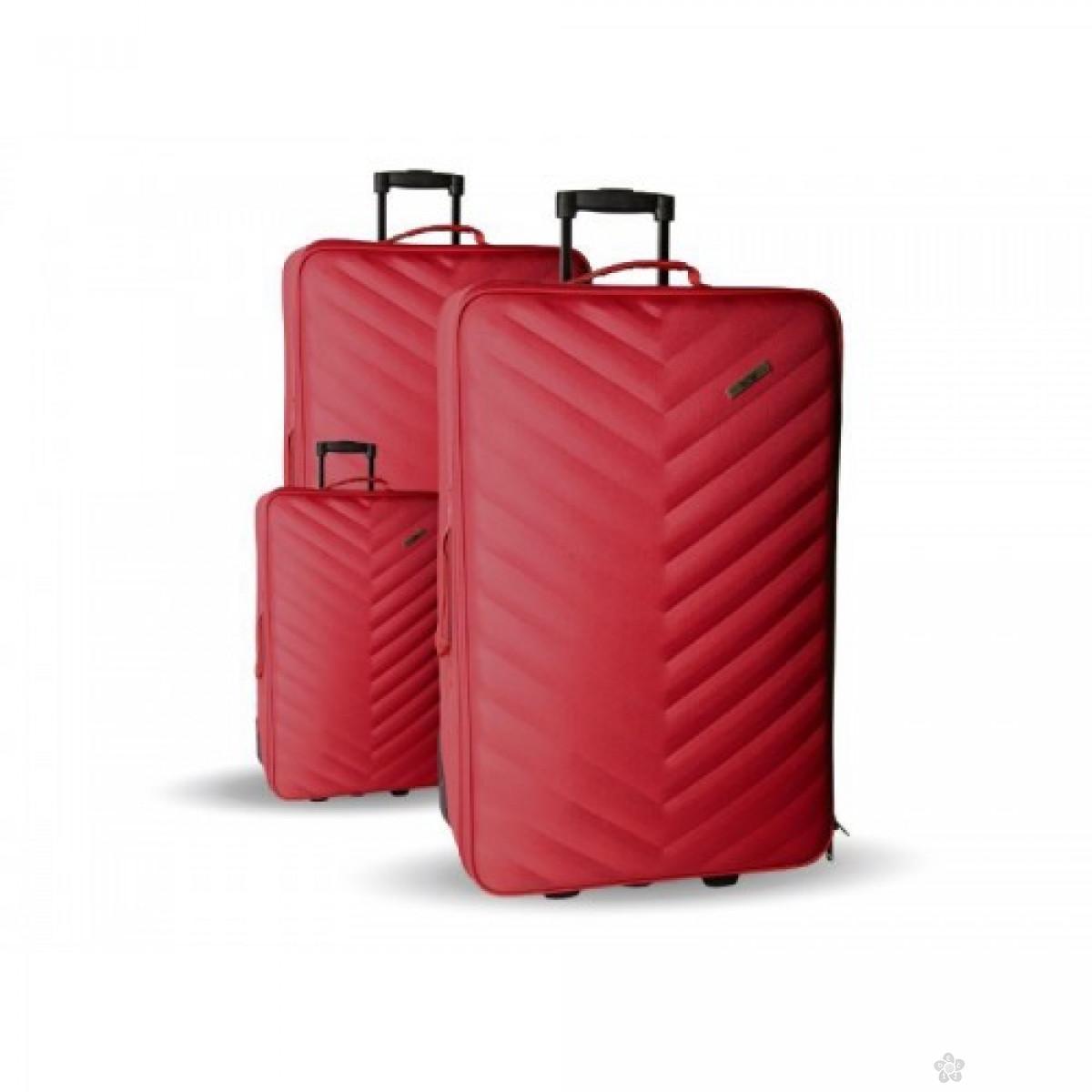 Set kofera Doha crveni 100104