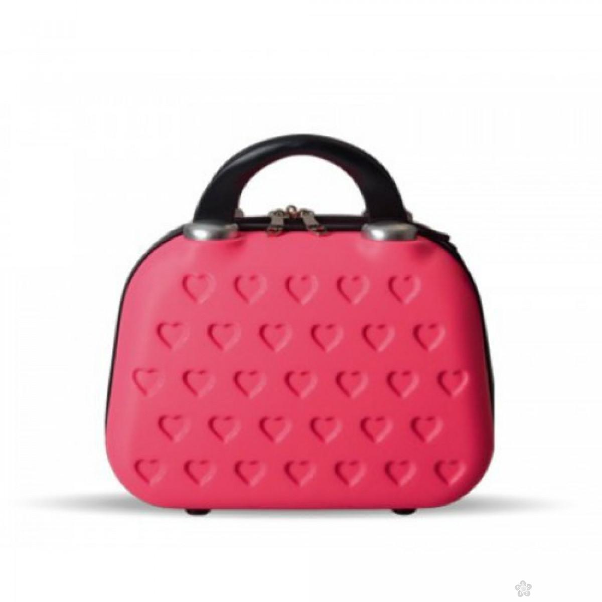 Neseser Nica, PVC pink, 100130