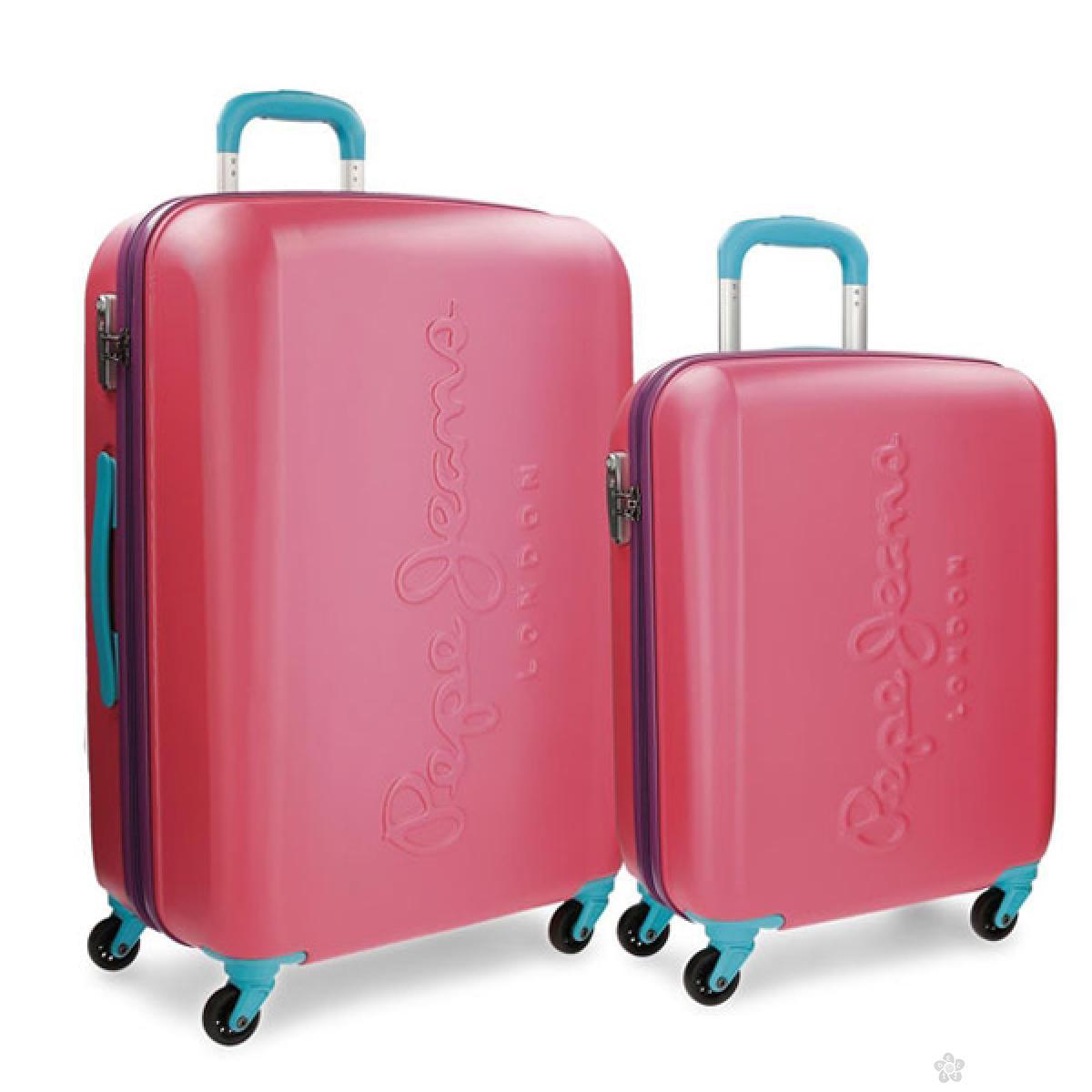 ABS set kofera 2/1 pink 74.989.53