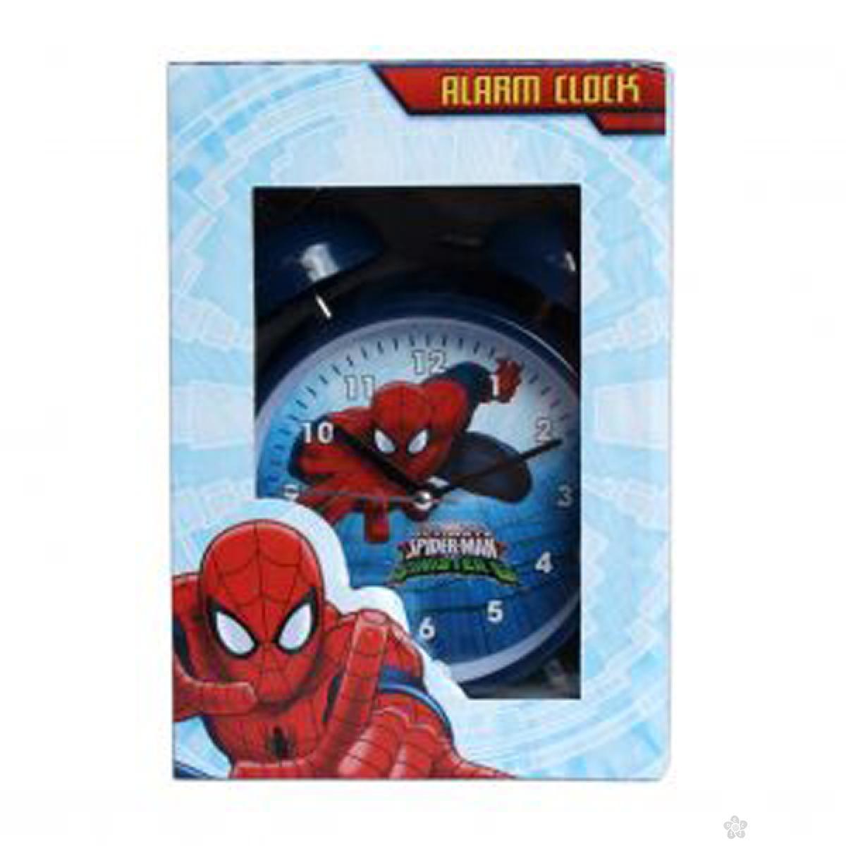 Budilnik Spiderman plavi SP2326-1